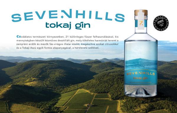 A Seven Hills Distillery Tokaj gin italát választották világ legjobb kortárs ginjének