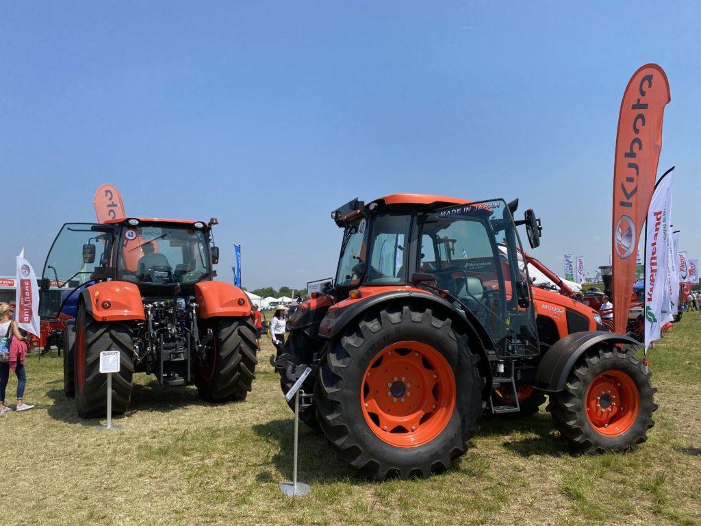 Igény szerint a Kubota traktorok mindegyike beilleszthető a precíziós pályázatba - Fotó: Magro.hu, Mezőfalva