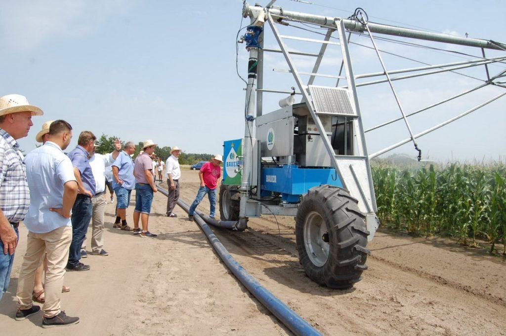 Az öntözés fejlesztésével hatékonyabb a termelés a Bács-Kiskun megyei Lakitelek és Szentkirály határában létesített kísérleti gazdaságban - Fotó: Univer Csoport