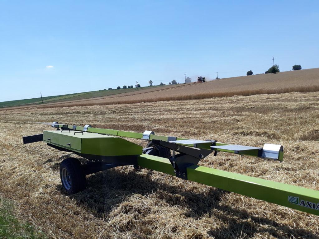 Aratás után is érdemes figyelni a talajra, mert a jó termés múlhat a tarlóhántás minőségén - Fotó: Magro.hu, CSZS, Tápióbicske