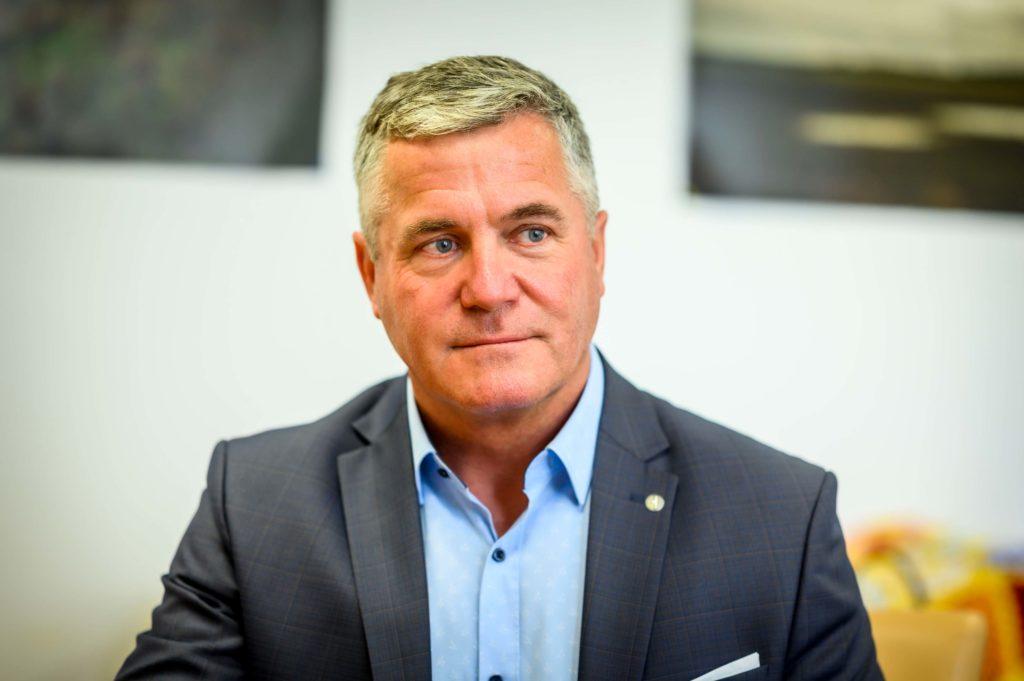A Balaton élővilágának miniszteri biztosa, Szári Zsolt adott exkluzív interjút a Magro.hu-nak - Fotó: Pelsőczy Csaba