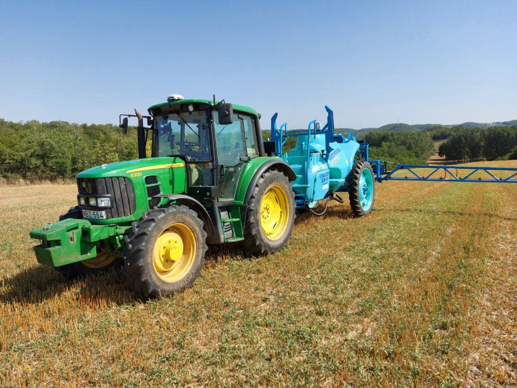 Komoly pénz és remek jövő a John Deere agrártechnológiai újdonságai számára - Fotó: Magro.hu, CSZS, Kölesd