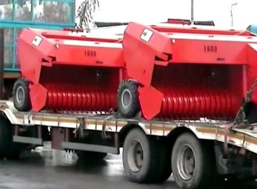 Eladó MAGNUM 1600 új fejlesztésű erősített venyige és ágbálázó 1 db fotó