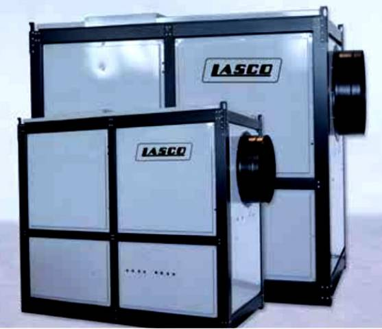 Eladó LASCO Légbefúvós pelletkazánok 1 db fotó