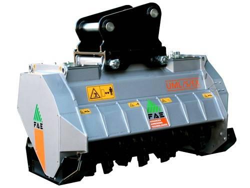 Eladó FAE UML EX – UML EX VT hidraulikus hajtású, fix fogas rotorral 14 - 20 t-ás kotrógépekre 1 db fotó