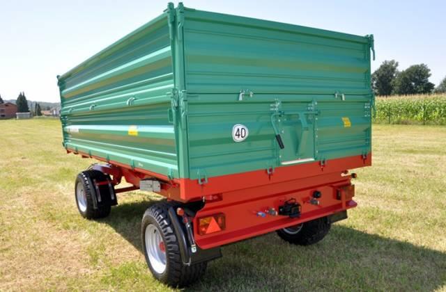 Eladó Farmtech pótkocsi 5-32 tonnáig 1 db fotó